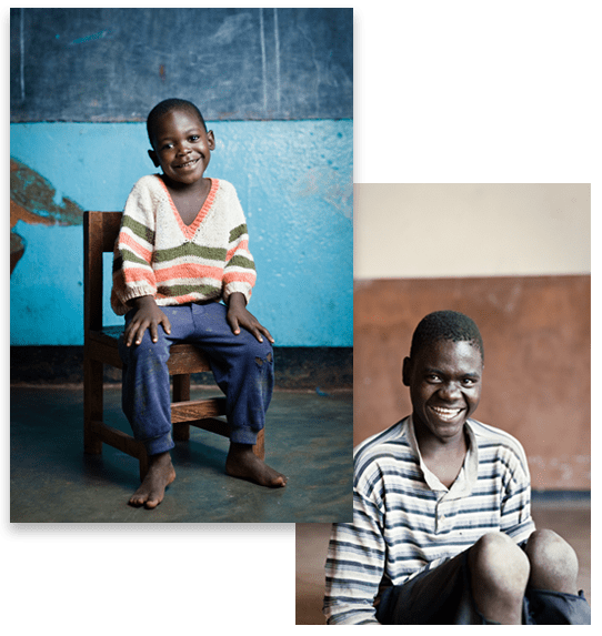 Image of two Malawi Lifeline fund success stories