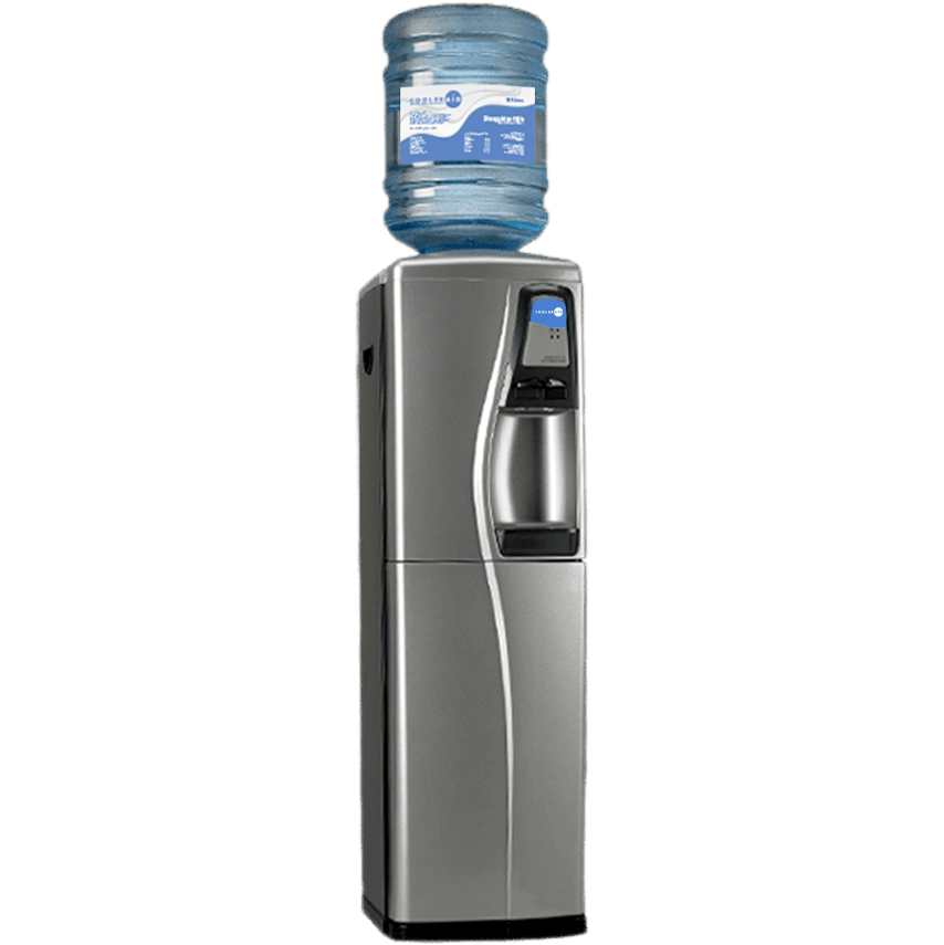 Platinum bottled water cooler