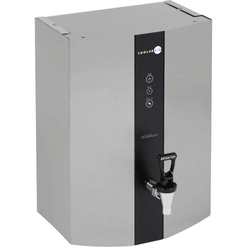 Wall mounted eco boiler with tap