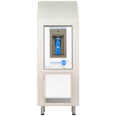 image of water refill station