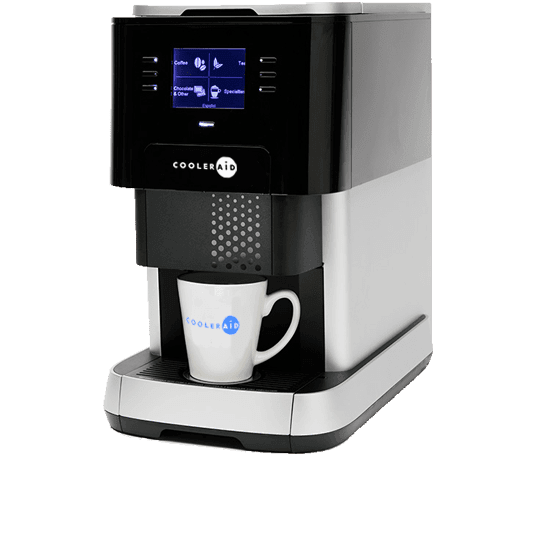 Flavia Coffee machine left side