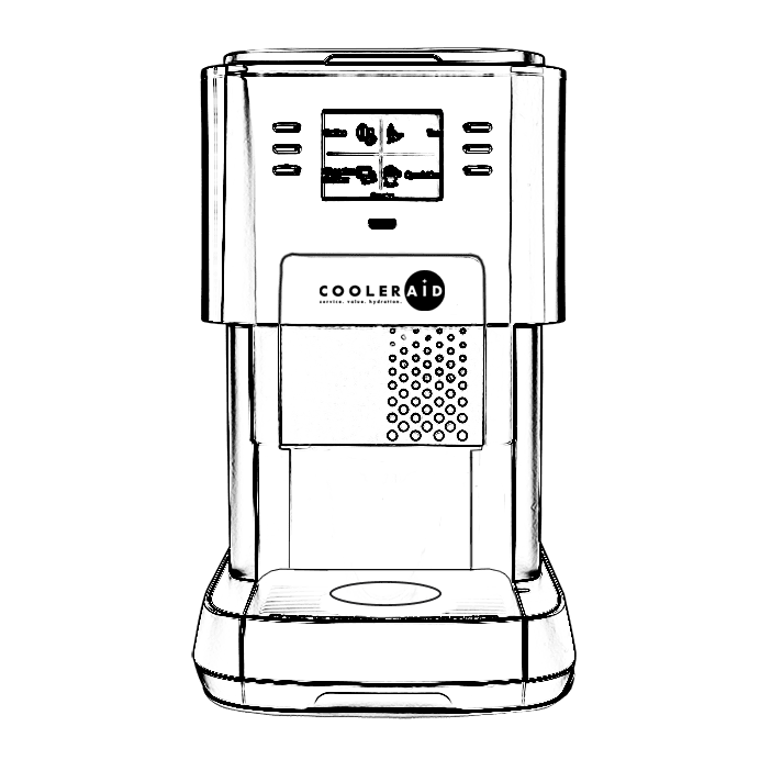Outline of the Flavia Coffee machine 1