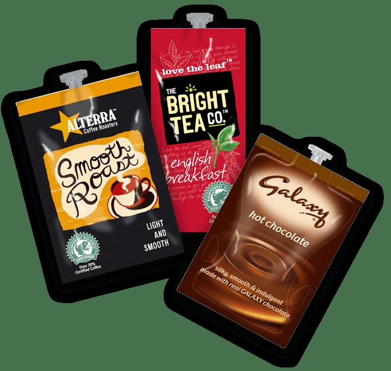 Flavia Coffee machine drinks pouches