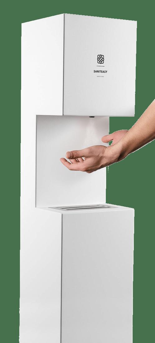 Home Page hand sanitiser image