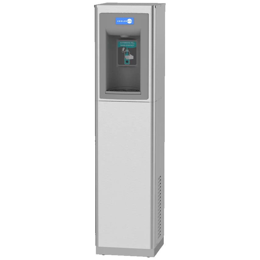 Contactless Floor Standing Bottle Filling Station